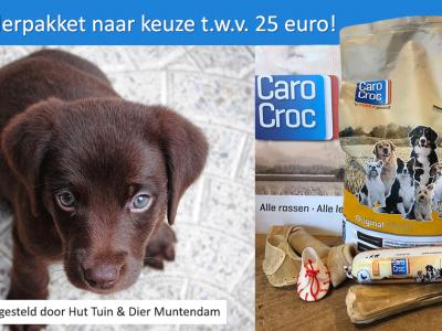 GRATIS hondenvoer t.w.v. 25 euro