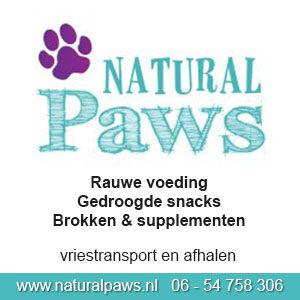 Ook Natural Paws vind je op Dierwijzer.nl