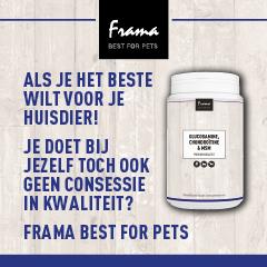 Ook Frama Best For Pets vind je op Dierwijzer.nl