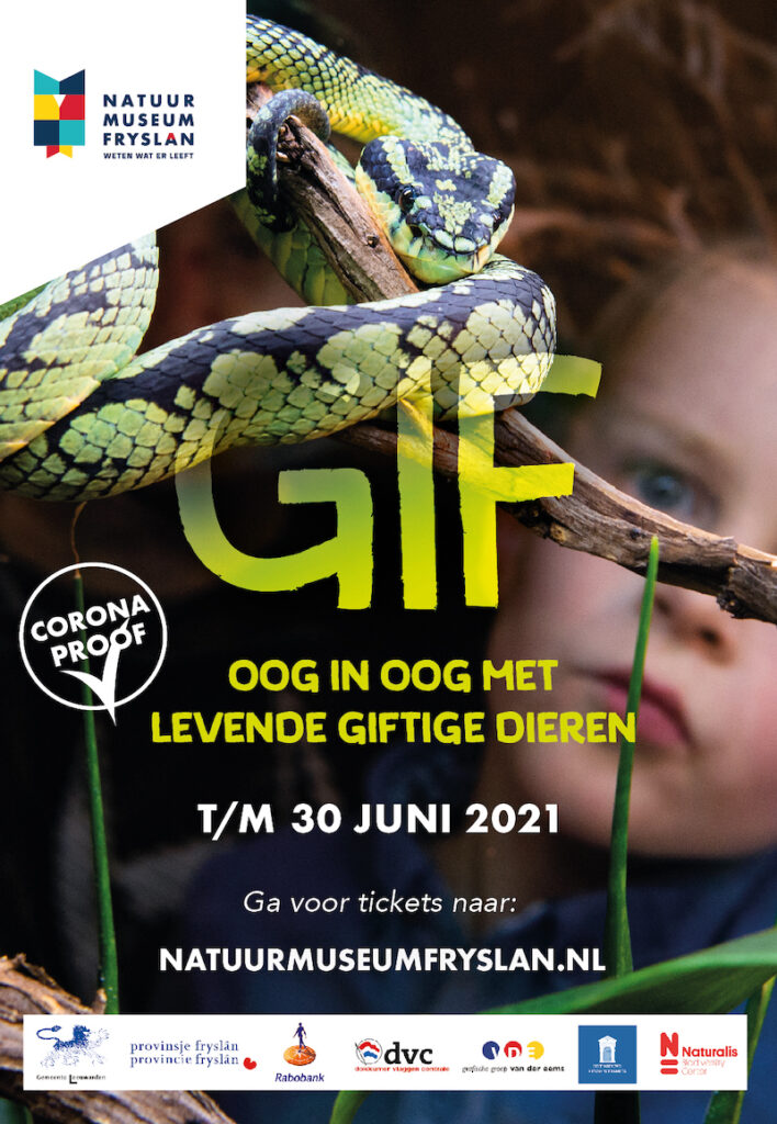 Ook Natuurmuseum Fryslan vind je op Dierwijzer.nl